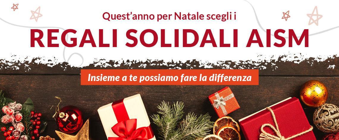 Nasce regali solidali AISM
