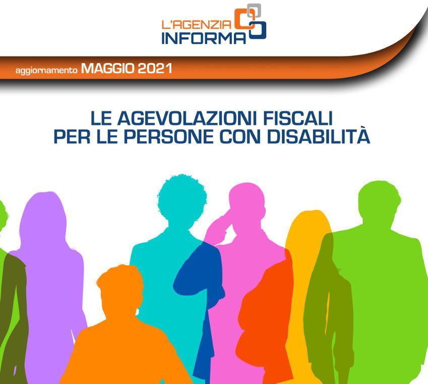 Agenzia delle Entrate - Guida alle agevolazioni fiscali persone con disabiltà